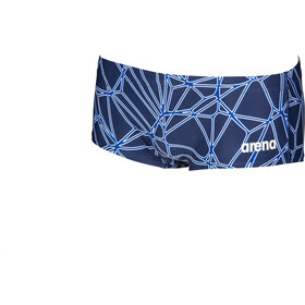 arena Carbonics Pro Low Waist Shorts Herren navy/neon blue